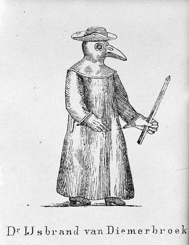 IJsbrand van Diemerbroeck, Dutch plague doctor