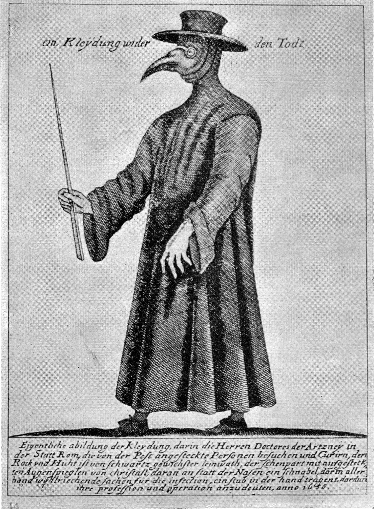 Plague doctor: costume of death