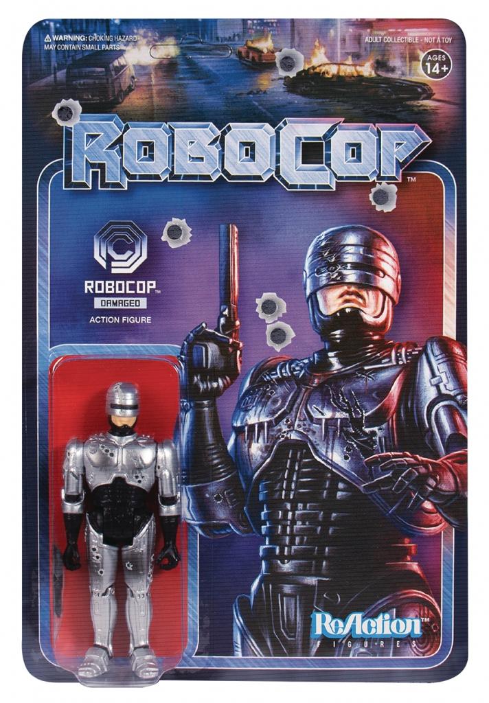 ReAction Figures - Battle Damaged Robocop