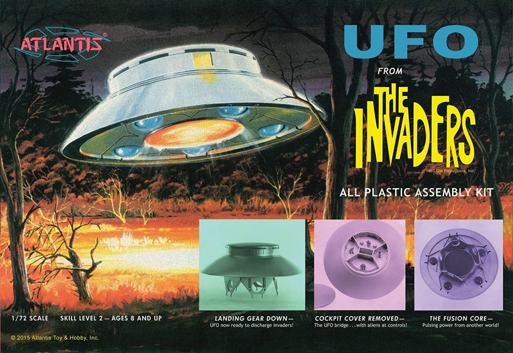 The Invaders - UFO 1/72 Scale Model Kit