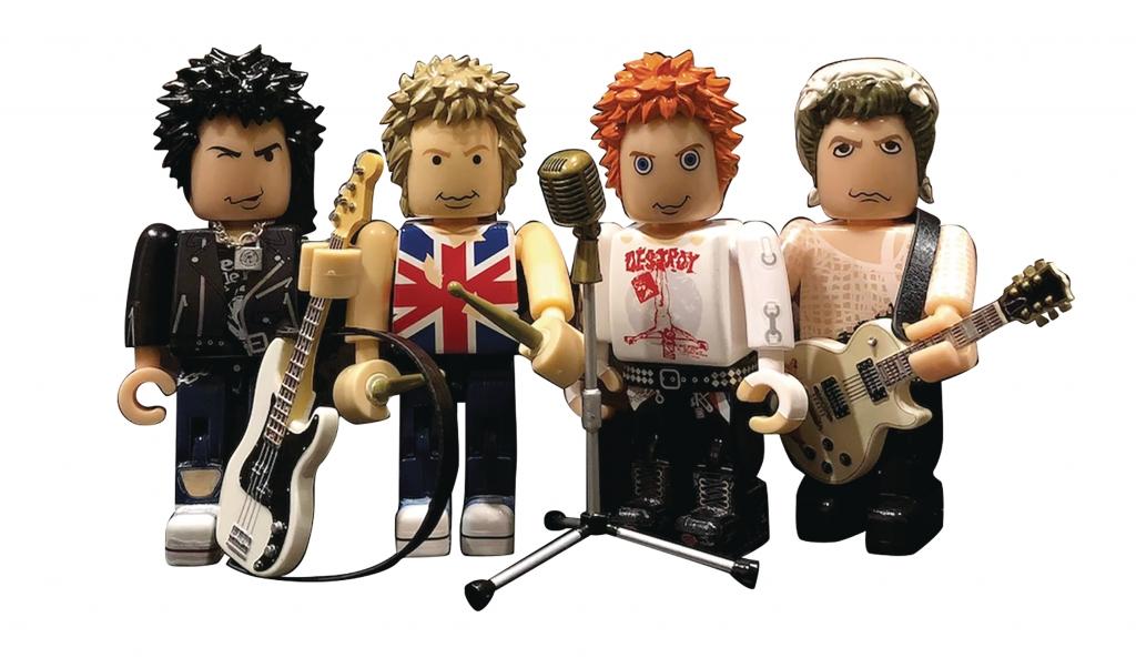 The Sex Pistols Mini Fig PVC Set