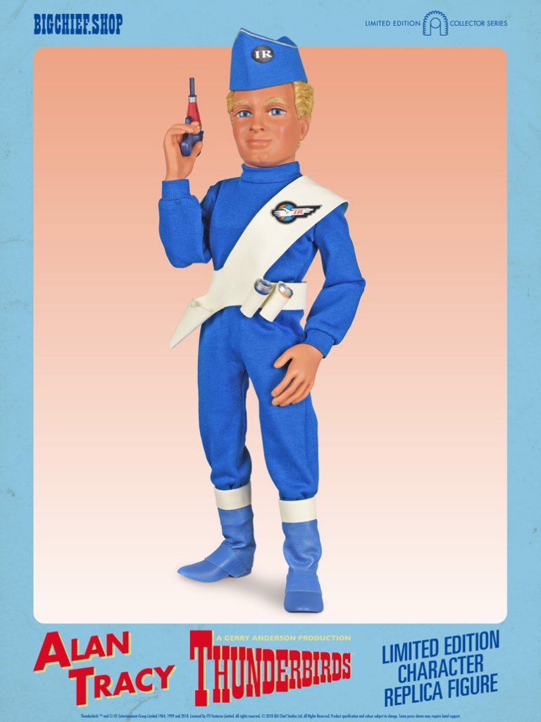 Thunderbirds 1/6 Scale Action Figures - Alan Tracy