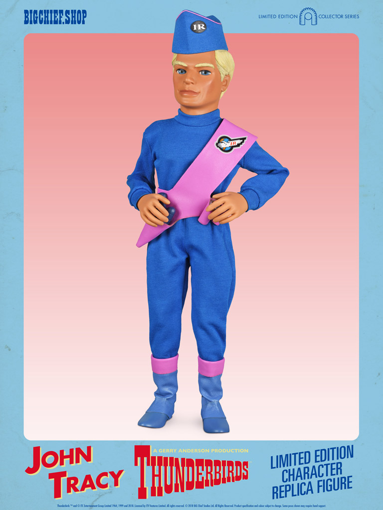 Thunderbirds 1/6 Scale Action Figures - John Tracy