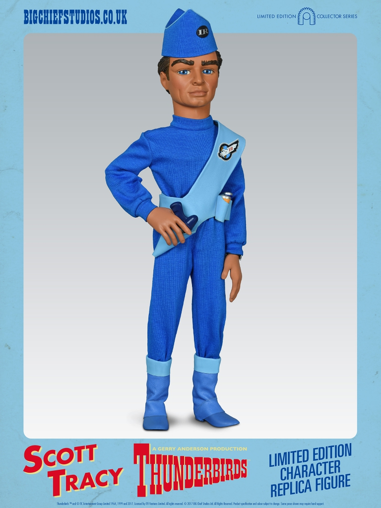 Thunderbirds 1/6 Scale Action Figures - Scott Tracy