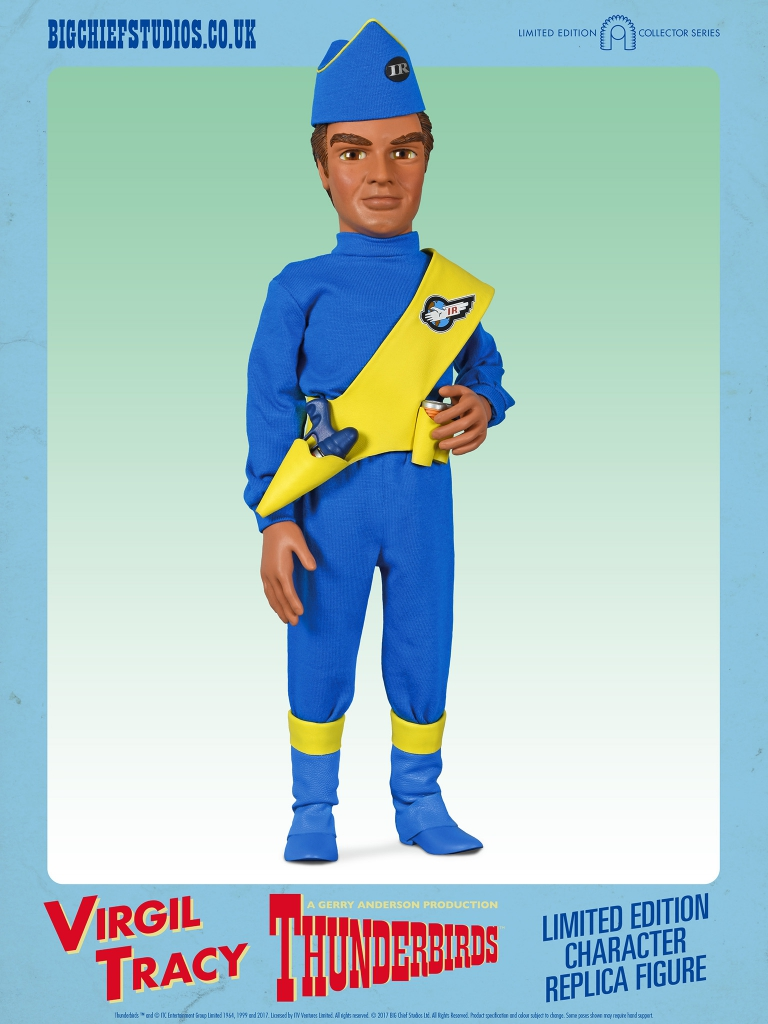Thunderbirds 1/6 Scale Action Figures - Virgil Tracy