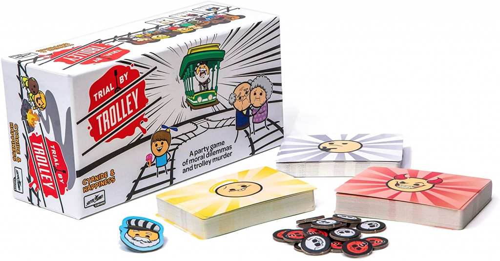 Trial By Trolley Board Game