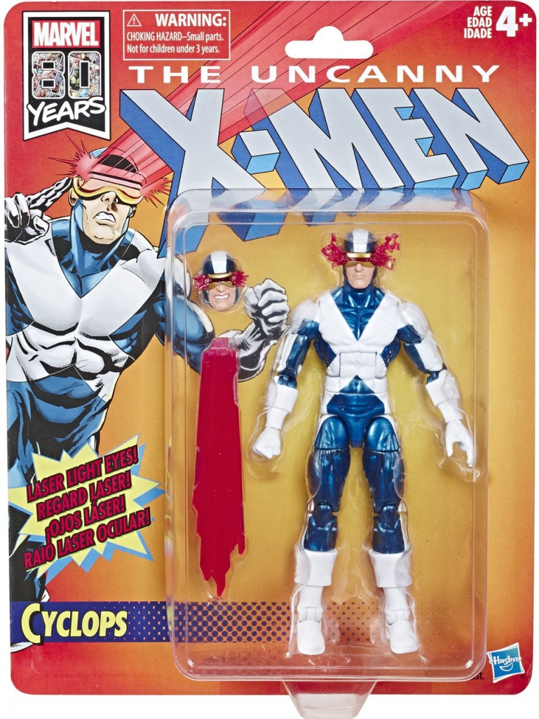 The Uncanny X-Men Retro Action Figures - Cyclops