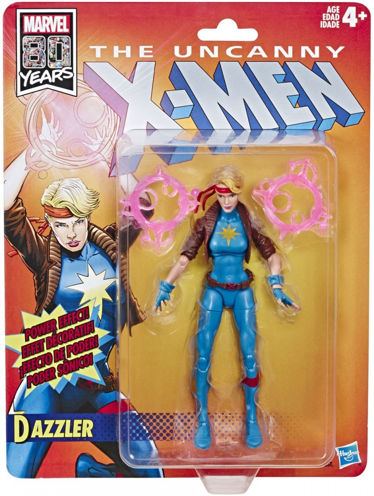The Uncanny X-Men Retro Action Figures - Dazzler