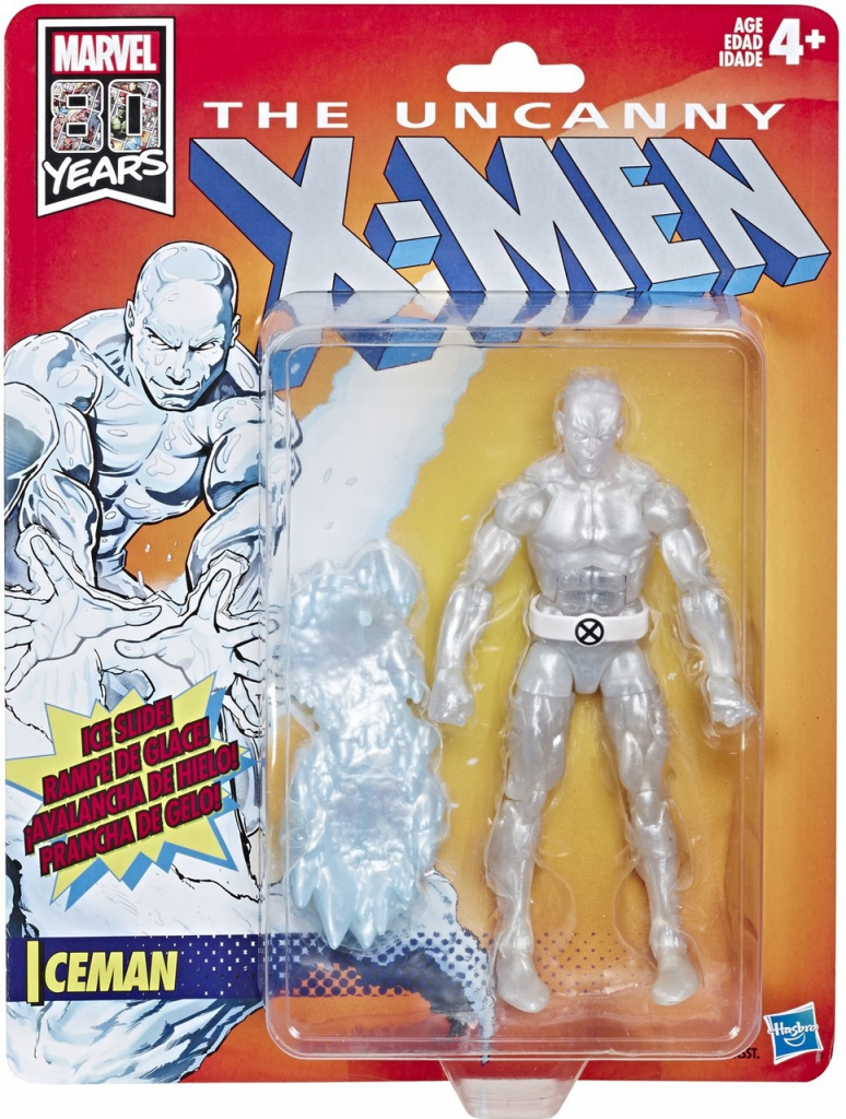 The Uncanny X-Men Retro Action Figures - Iceman