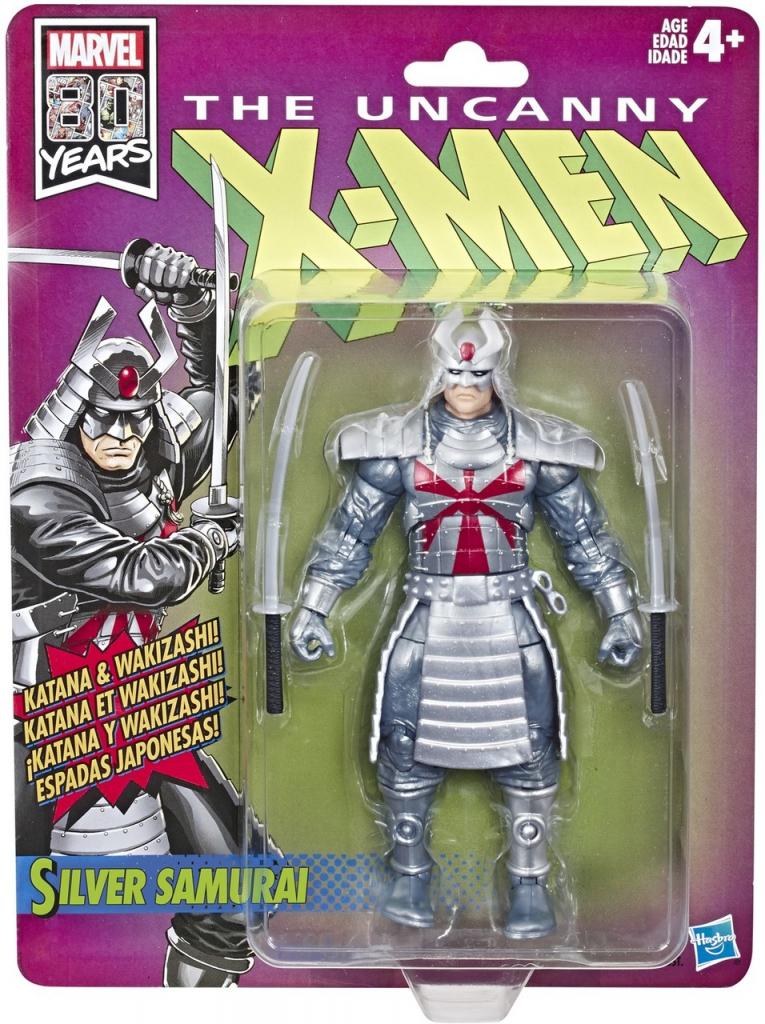 The Uncanny X-Men Retro Action Figures - Silver Samurai