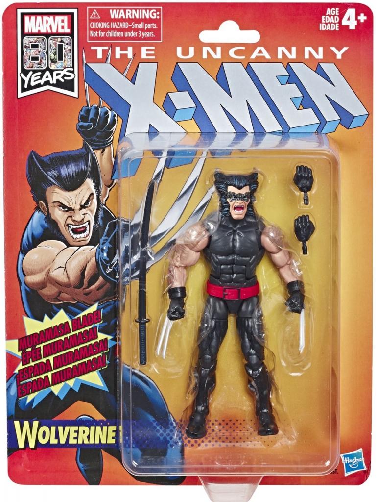 The Uncanny X-Men Retro Action Figures - Wolverine