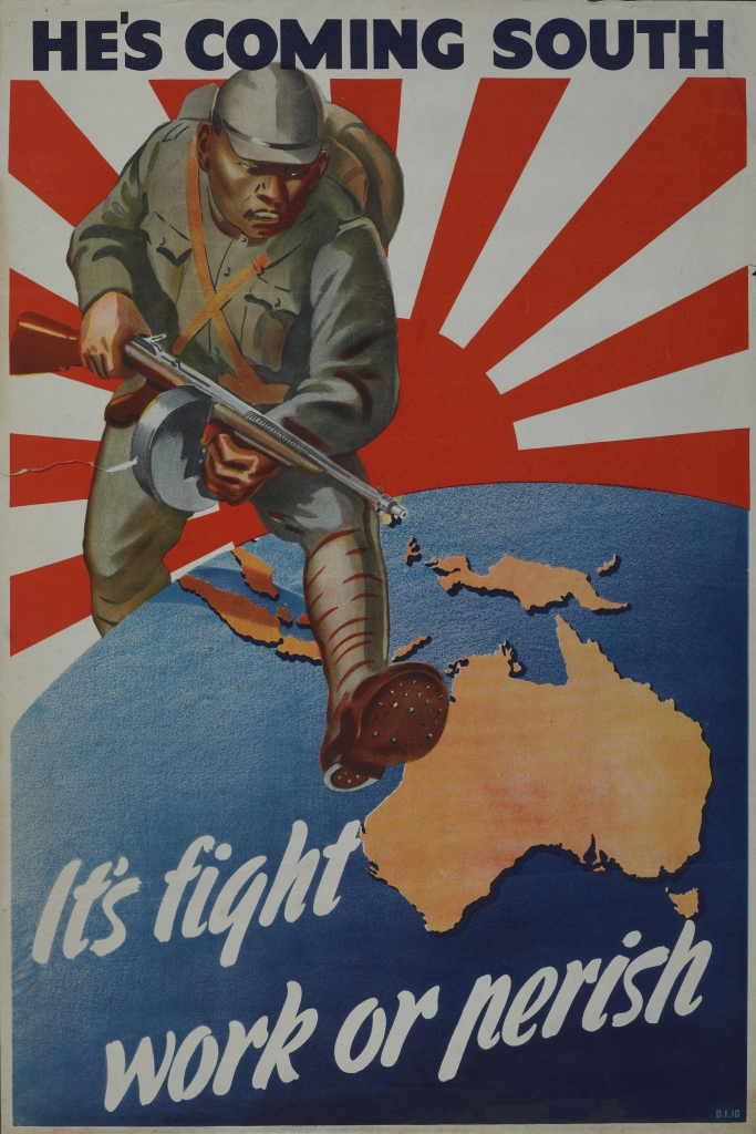 World War II Propaganda - He's Coming South