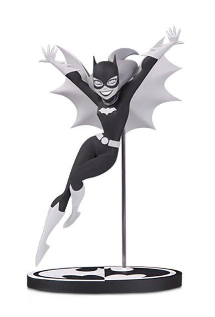 Batman Black & White Statue - Batgirl by Bruce Timm