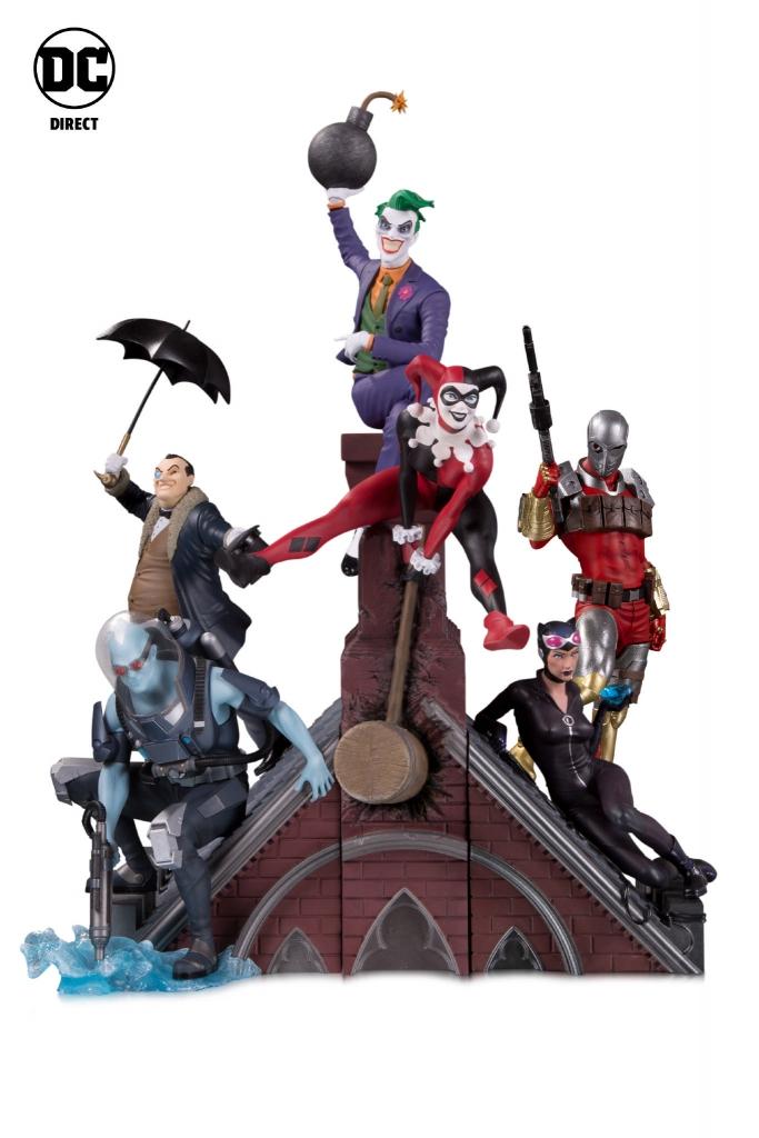 Batman Rogues Gallery Multi-Part Statue