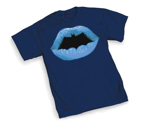 Batman Symbol Lips T-Shirt