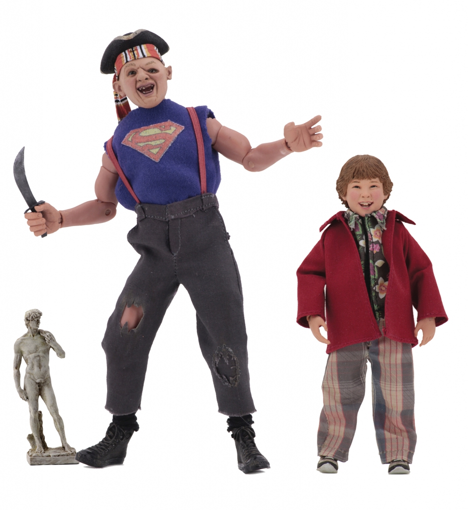 The Goonies: Sloth & Chunk 8-inch Retro Action Figures