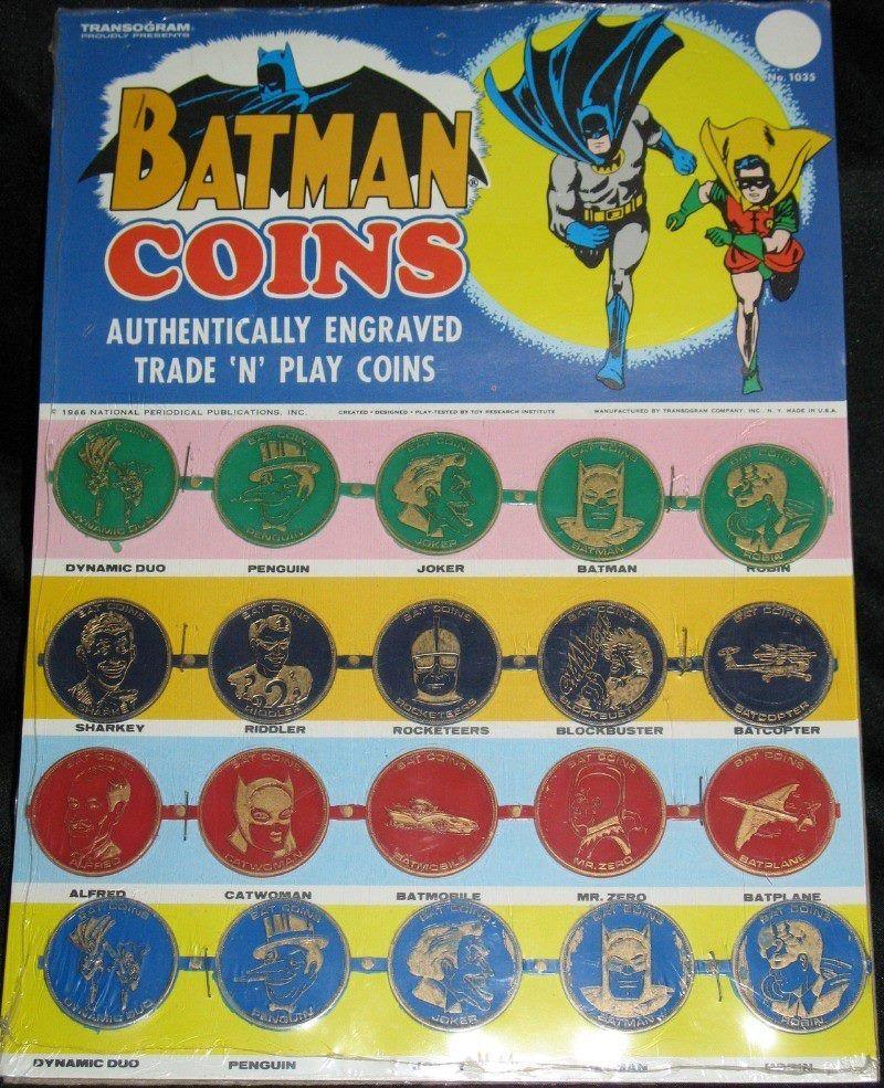 Transogram Batman Coins