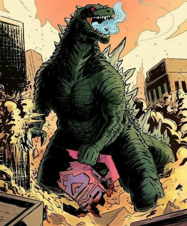 Godzilla vs. Galactus