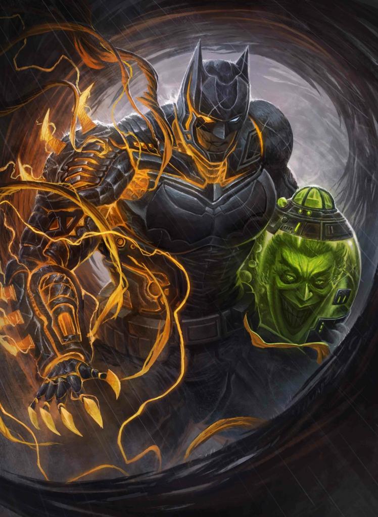 The Knight and the Joker Fan Art