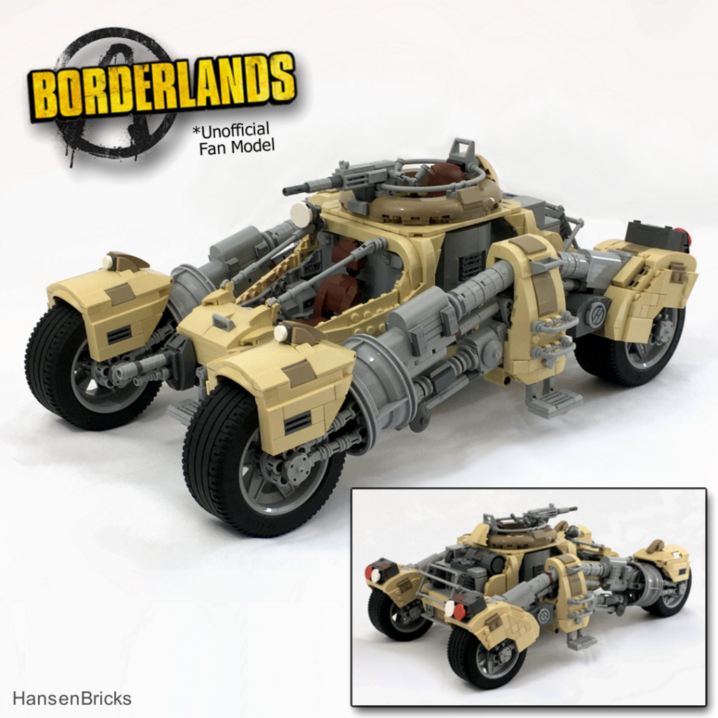 Lego Borderlands Outrunner