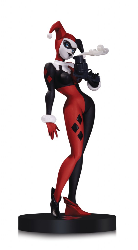 DC Designer Series Harley Quinn Statue By Bruce Timm