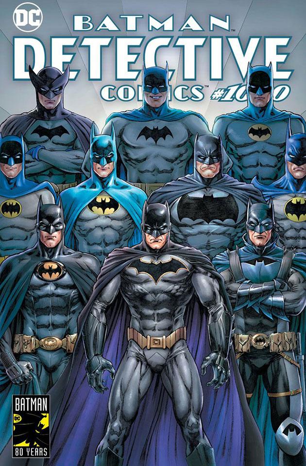 Detective Comics 1000 - Variant Cover by Nicola Scott