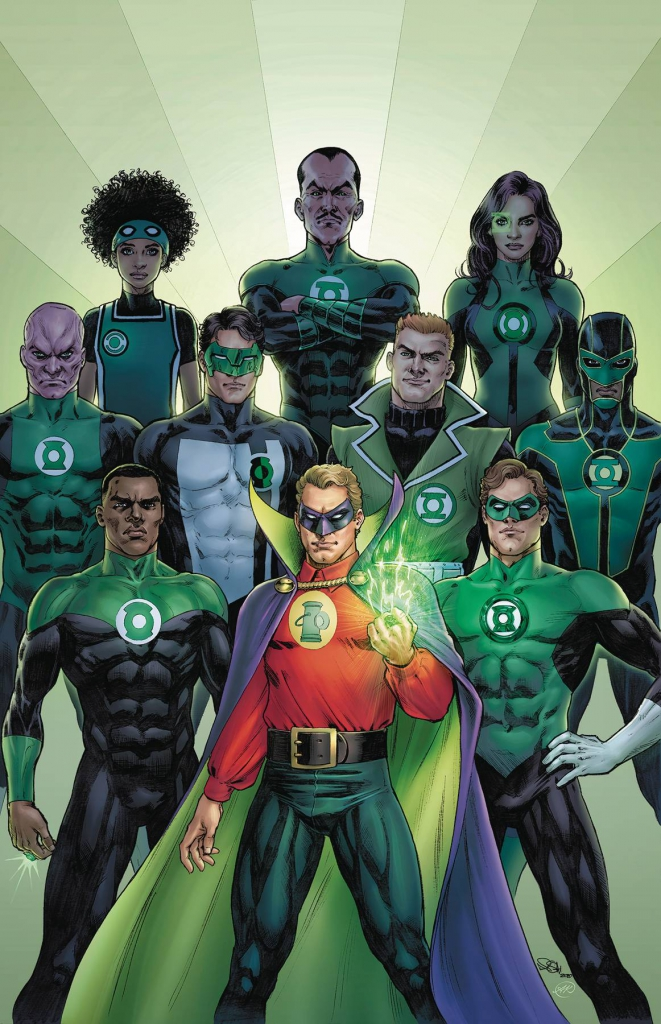 Green Lantern 80th Anniversary - Variant Cover by Nicola Scott