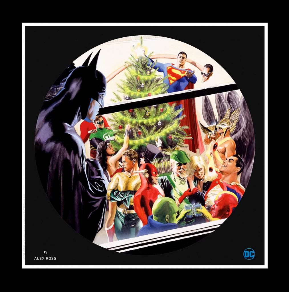 DC Holiday 2018 Lithograph by Alex Ross
