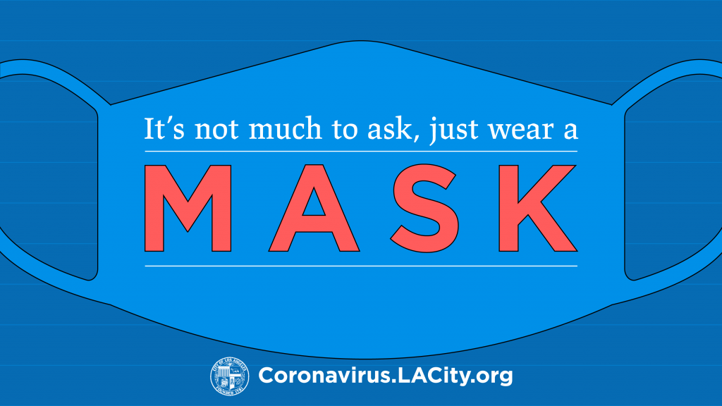 It's not much to ask, just wear a mask.