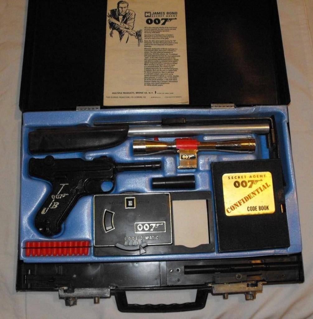 James Bond 007 Shooting Attache Case