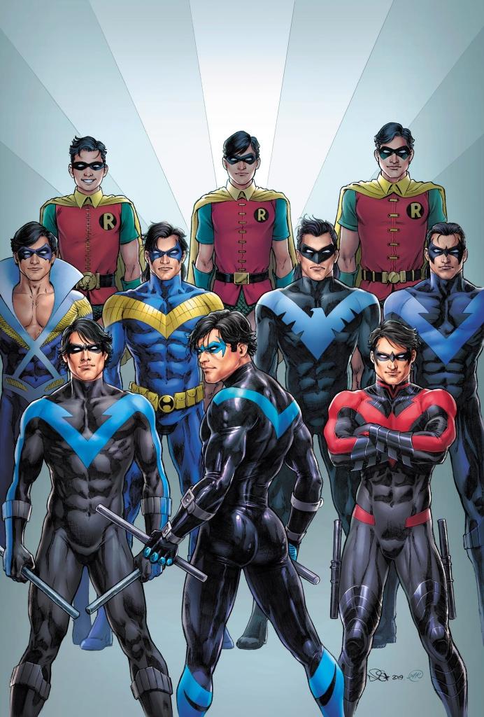 Nightwing Fan Art by Nicola Scott