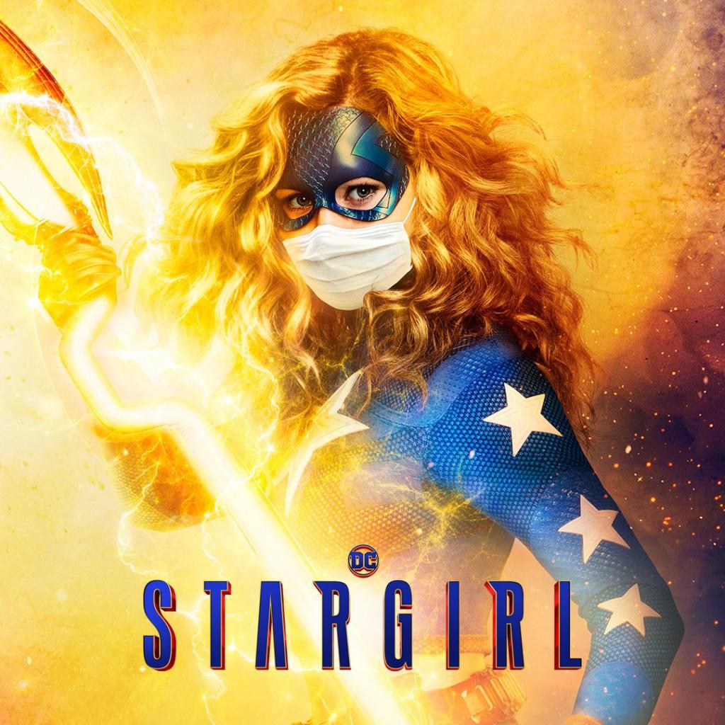 Stargirl Wearing Mask