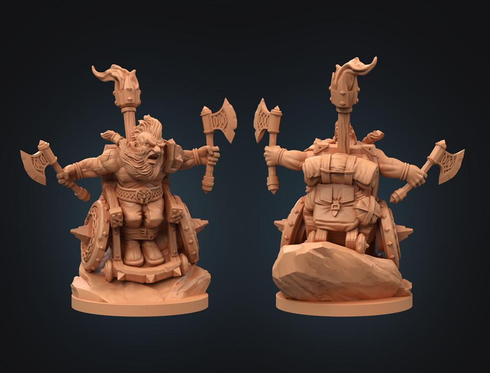 Strata Miniatures - Dwarf Barbarians