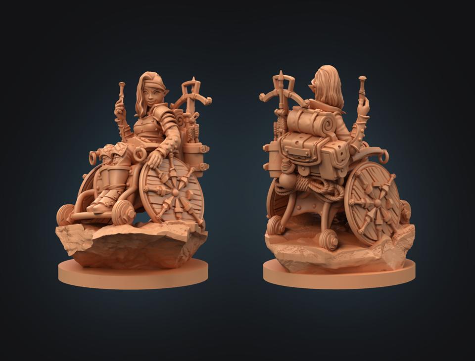 Strata Miniatures - Elf Rogue