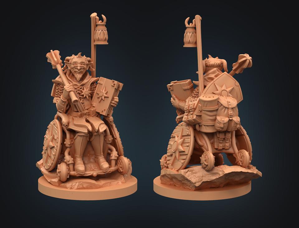 Strata Miniatures - Teifling Cleric