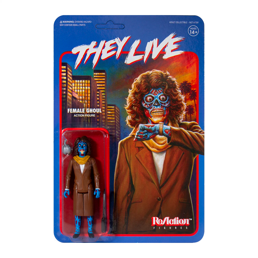 They Live ReAction Figure - Female Ghoul
