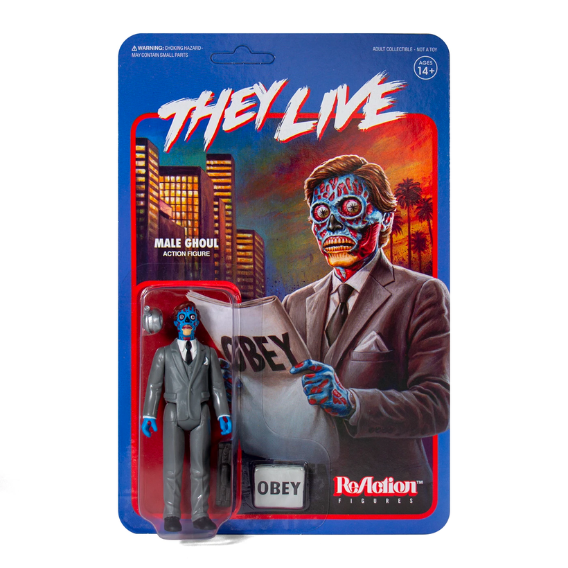 They Live ReAction Figure - Male Ghoul