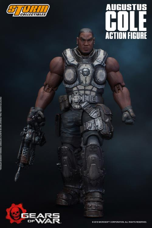Gears of War: Augustus Cole Action Figure