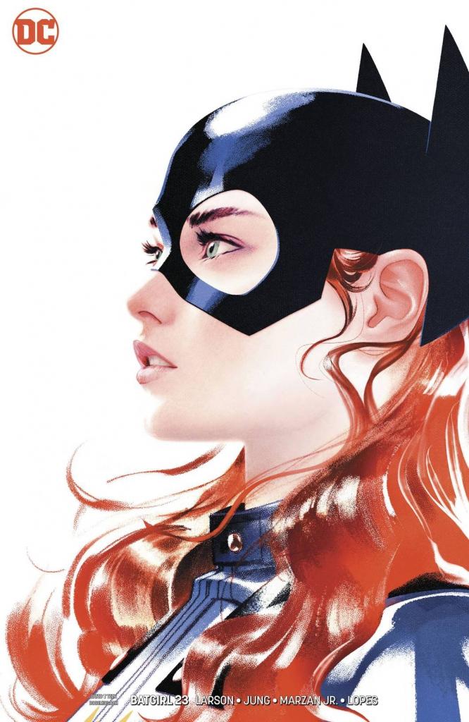 Batgirl #23 - Variant Cover by Joshua Middleton