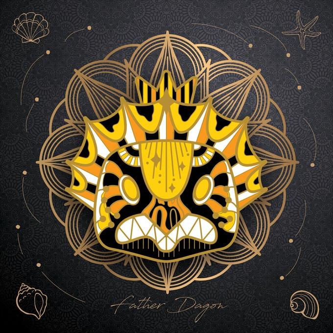 Cthulhu Deities Pins - Father Dagon
