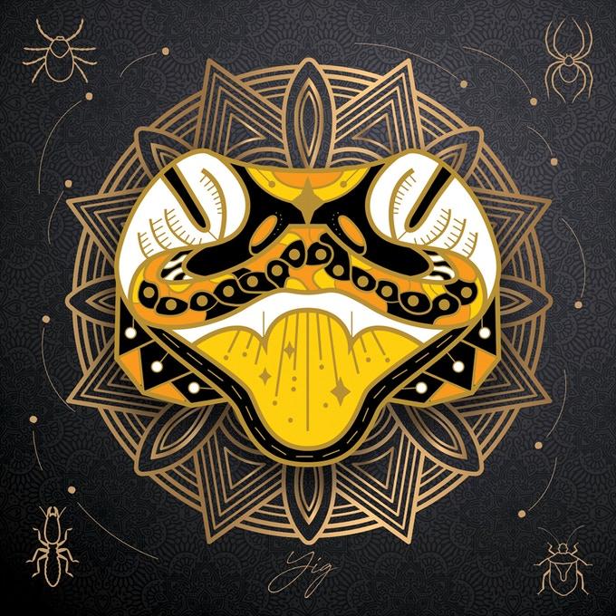 Cthulhu Deities Pins - Yig