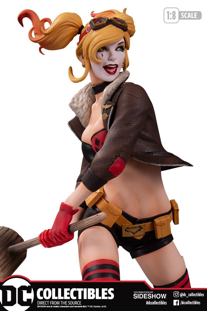 DC Bombshells Harley Quinn Statue, Version 2