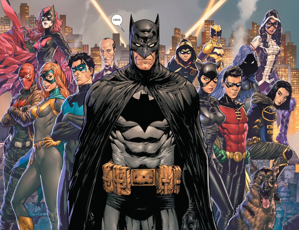 Detective Comics No. 1000 Splash Page