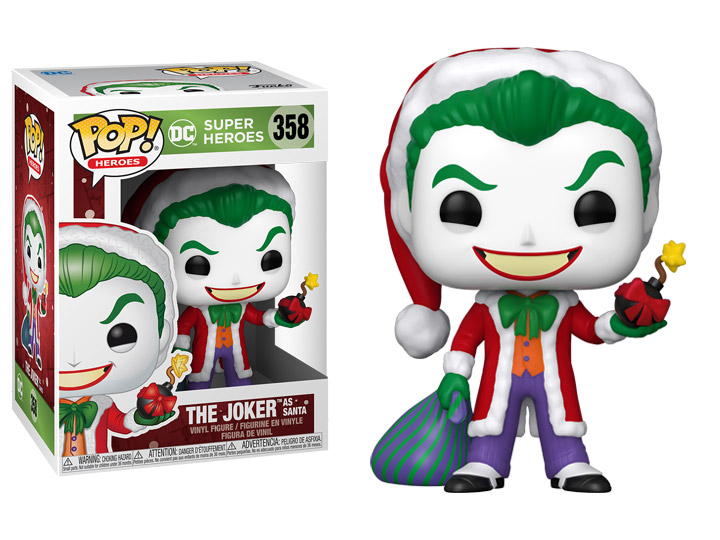 Funko Pop! DC Heroes: Holiday - The Joker
