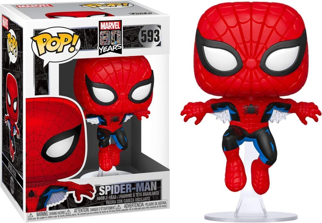 Funko Pop! Marvel 80th Anniversary Spider-Man First Appearance