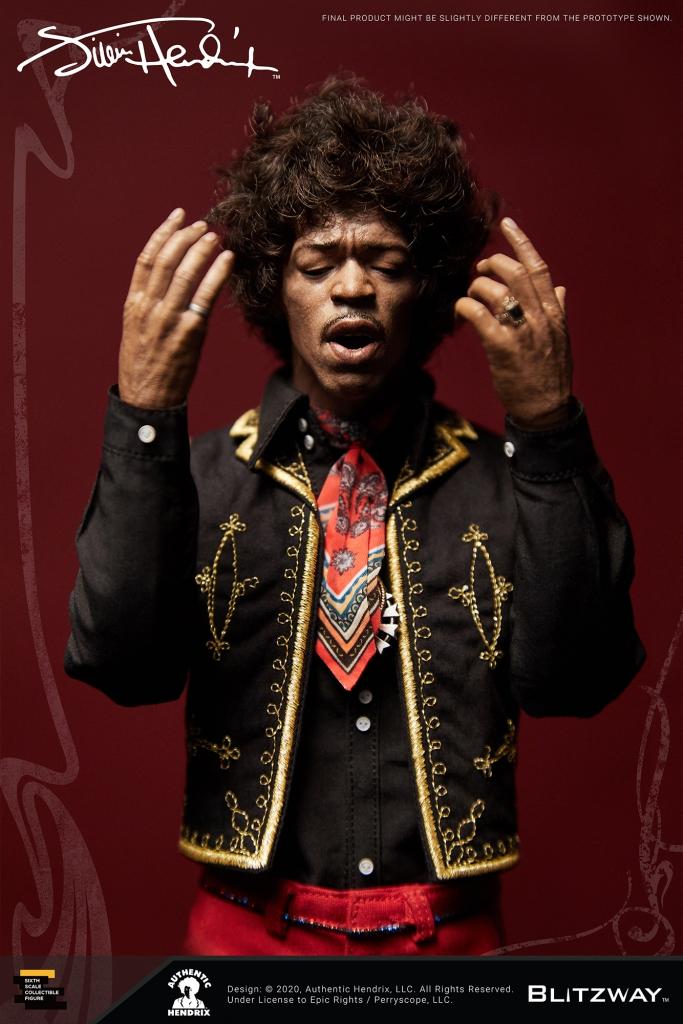 Jimi Hendrix 1/6 Scale Action Figure