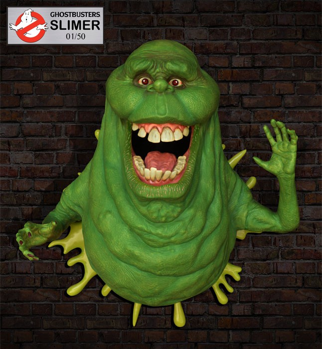 Ghostbusters Life-Size Slimer Wall Sculpture