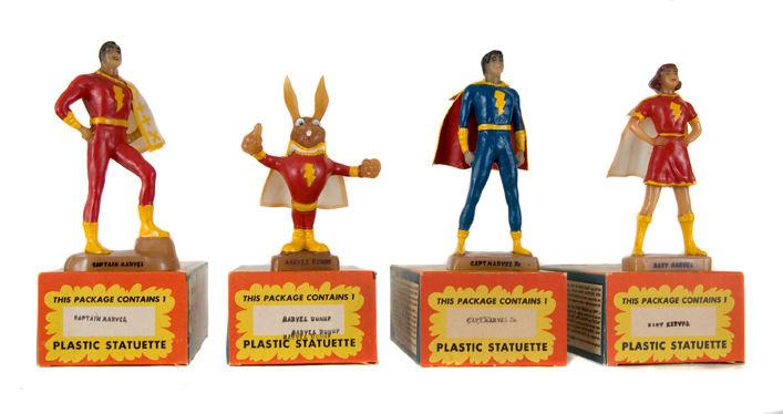 Marvel Family Plastic Statuettes