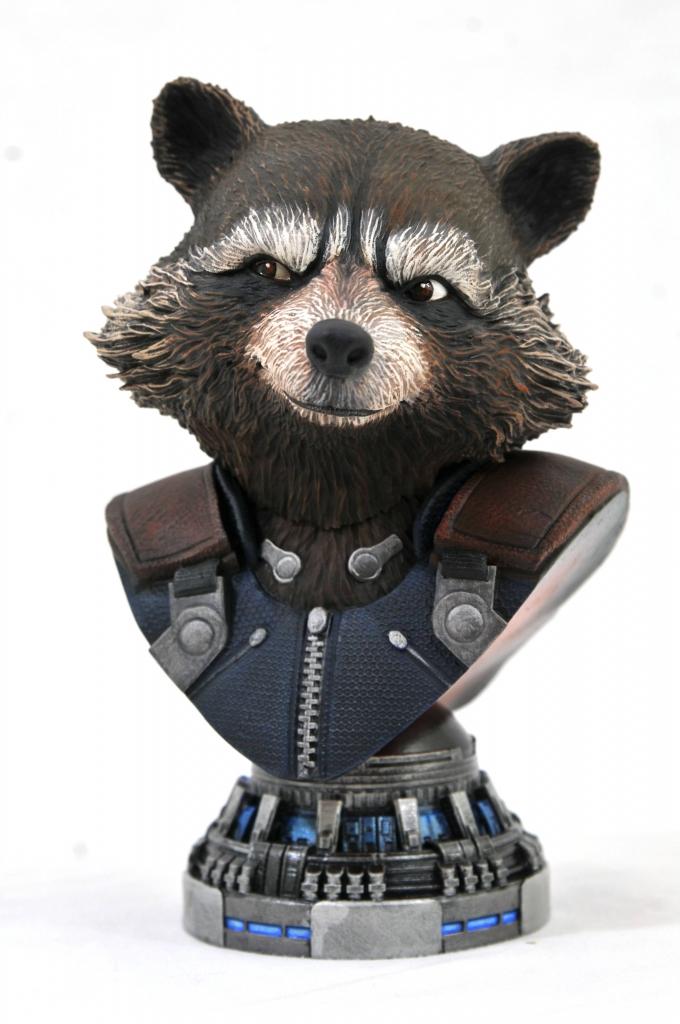 Legends in 3D - Rocket Raccoon 1/2 Scale Bust