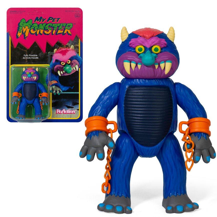 Super7 Reaction Figures - My Pet Monster Classic